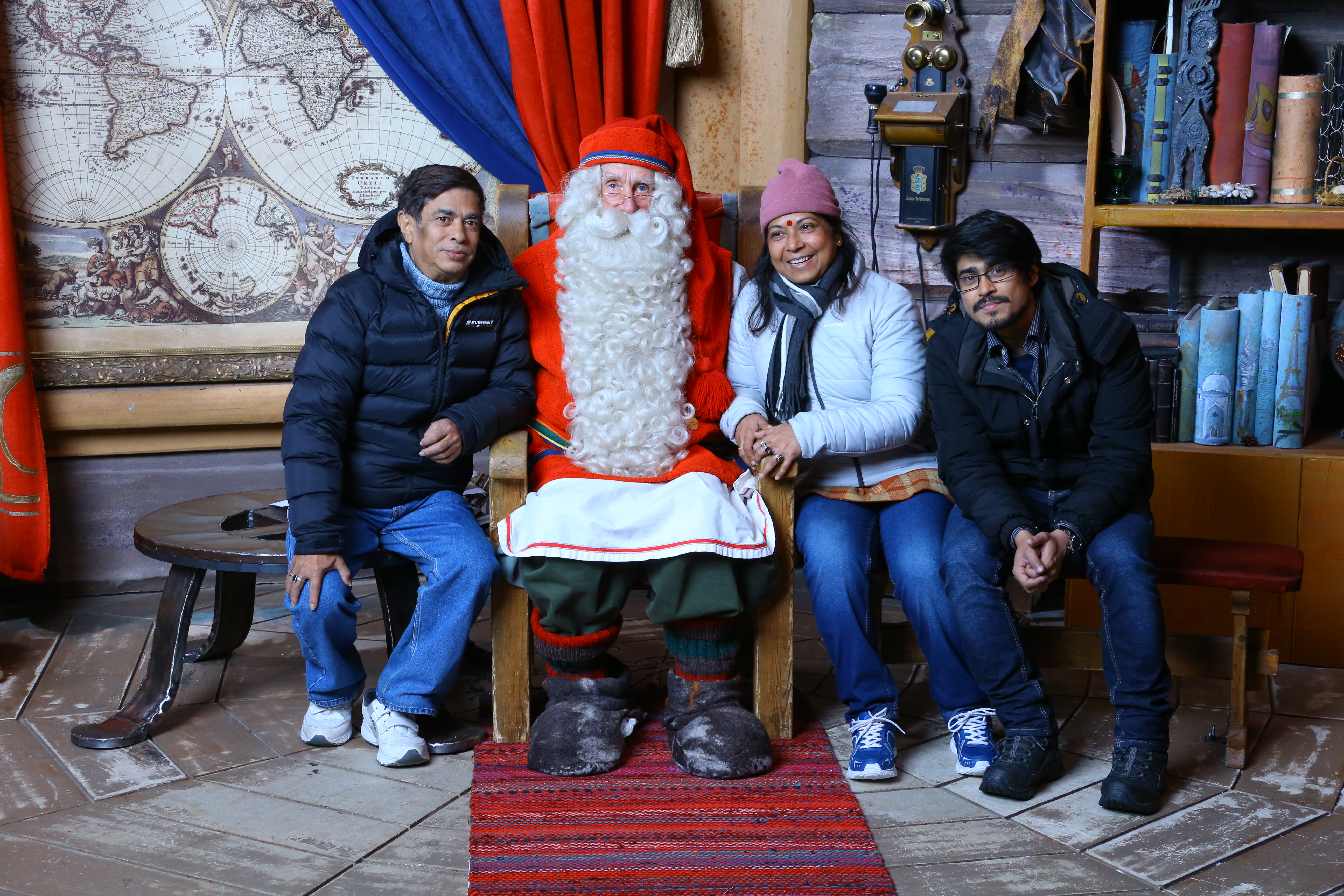 WITH SANTA CLAUSE AT LAPLAND.JPG