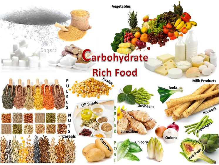 খাবার বা Foods (কার্বোহাইড্রেট বা Carbohydrates/প্রোটিন বা Protein/চর্বি বা Fats/ভিটামিন বা Vitamin/খনিজ পদার্থ বা Mineral/জল বাWater)